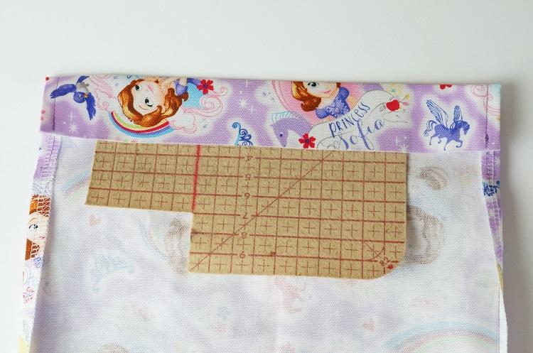 巾着の作り方 袋口
