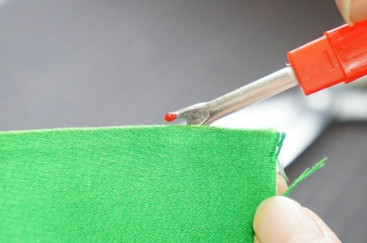 糸切り・ほどきに便利なリッパーの使い方