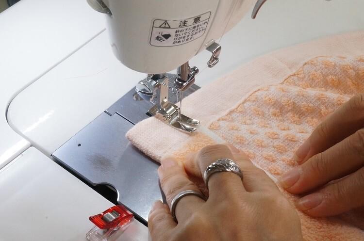 プールタオル(ラップタオル)の作り方