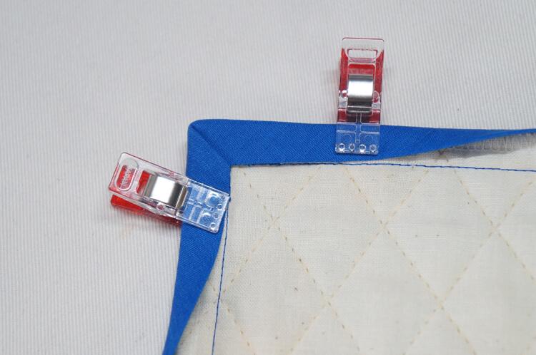 バイアステープ角の付け方