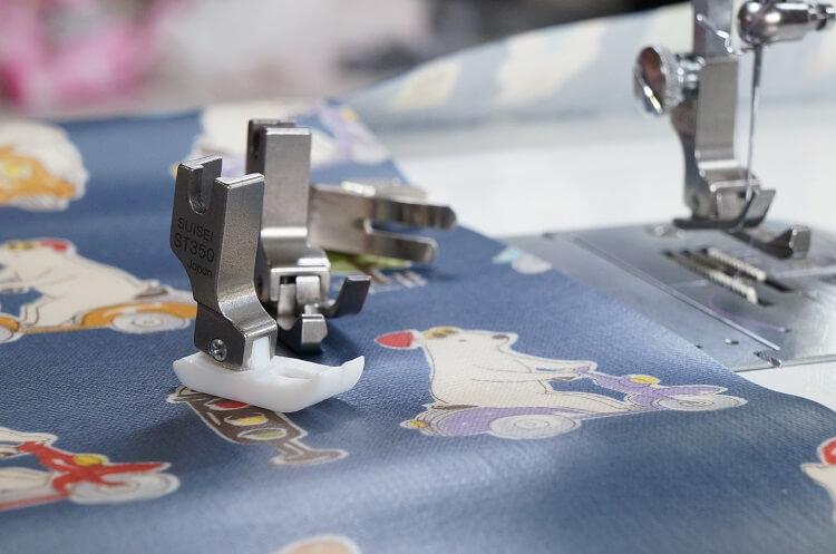 ミシンで合皮等の滑らない素材の縫い方!
