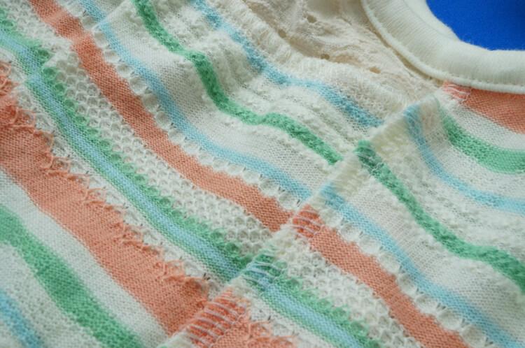 ロックミシン|ニットの縫い合わせ