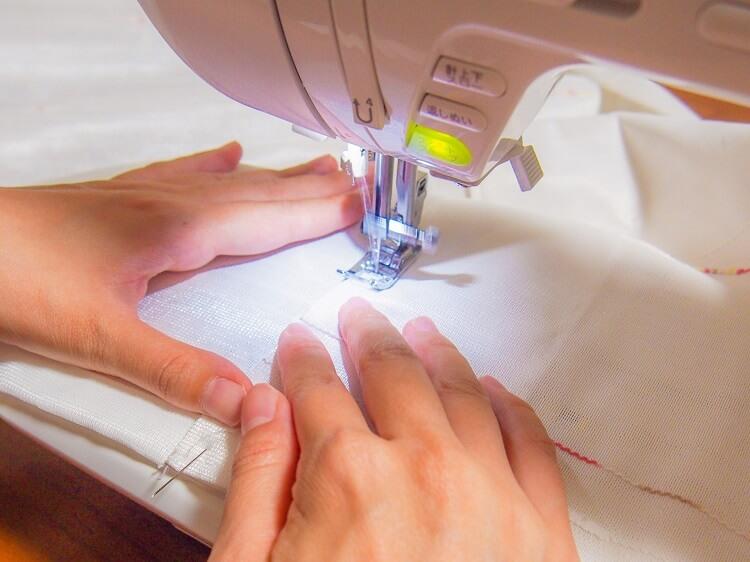 閂止め(かんぬきどめ)とは?家庭用ミシンの縫い方