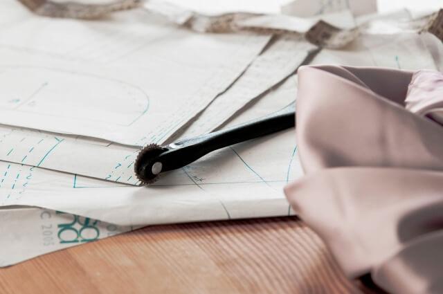 縫い代の無い型紙
