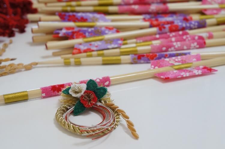 手芸正月飾りの手作り