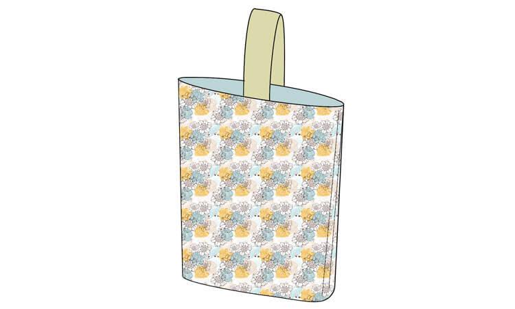 靴袋(シューズバッグ)一本渡しタイプ