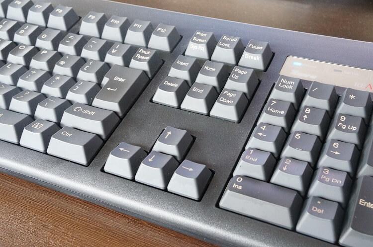 手が疲れないキーボード