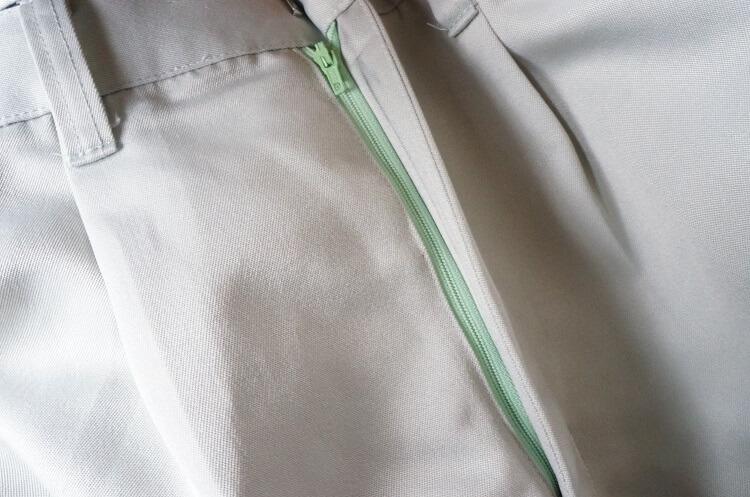 ズボンのファスナー修理交換