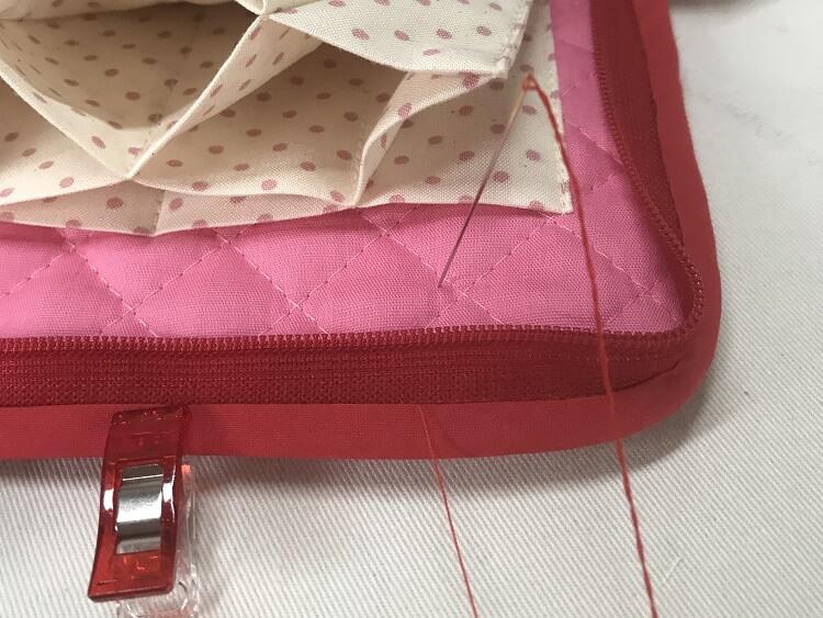 バイアスまつり縫い