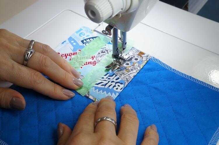 生地を真っすぐ縫う方法