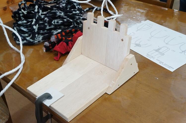 布ぞうり作りの道具