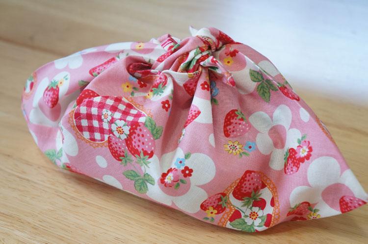 幼稚園で使うあづま袋