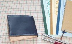 レザークラフト2つ折り財布