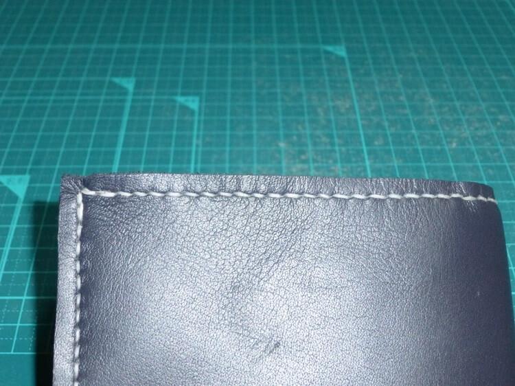 組み立て(2つ折り財布)