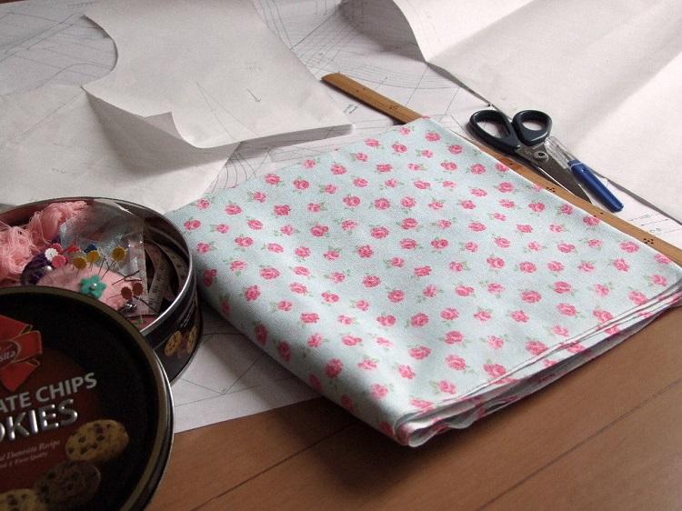 洋裁型紙の作り方