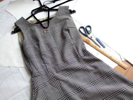 洋服型紙の作り方