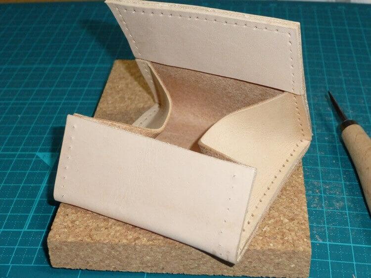 コインケースの作り方(縫製準備)