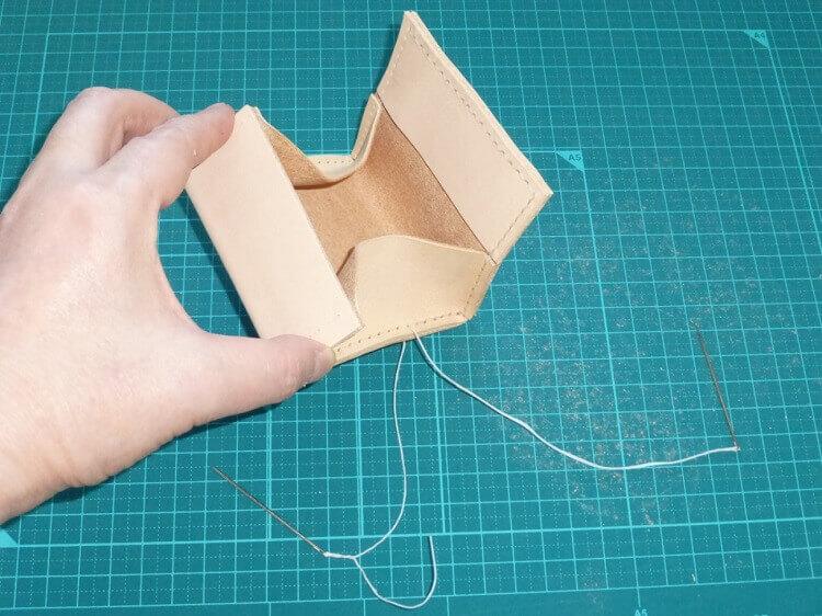 コインケースの作り方(縫製)