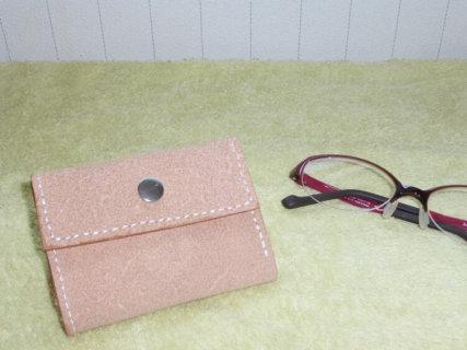 レザークラフト三つ折り財布の作り方
