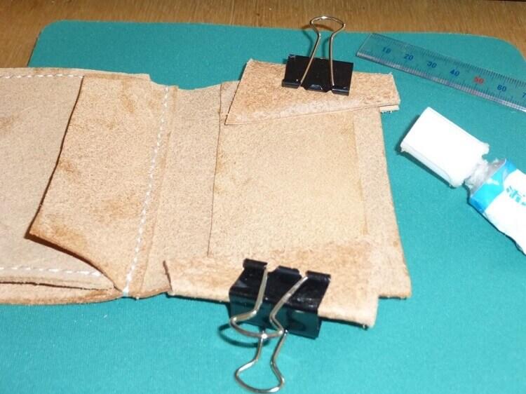 三つ折り財布の作り方(縫製)