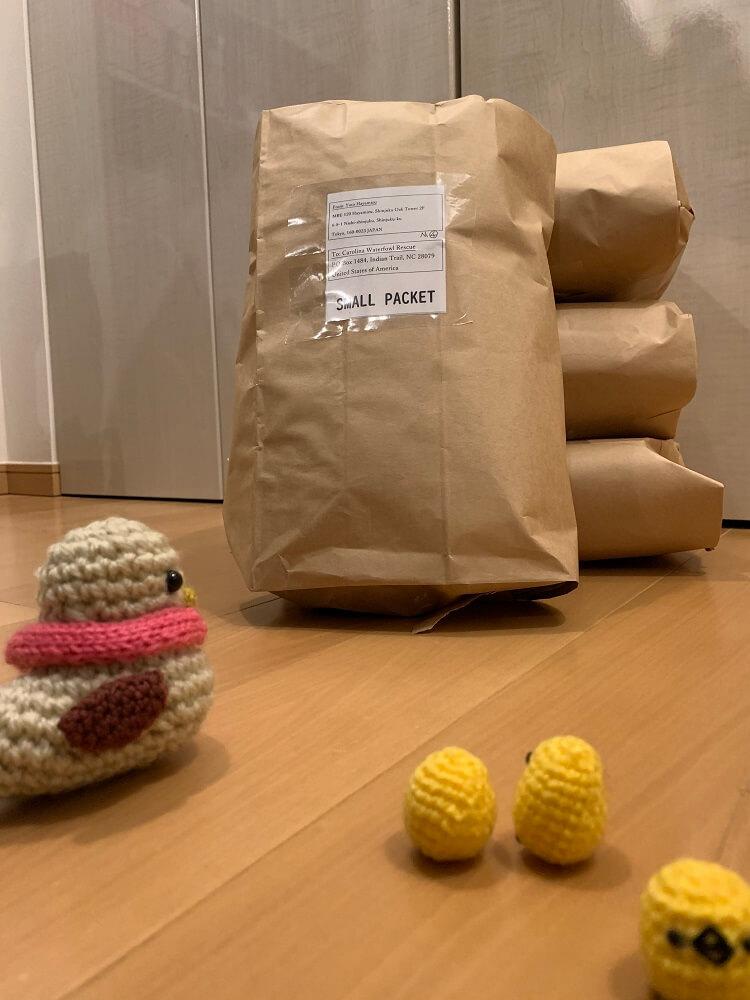 編み物で社会貢献