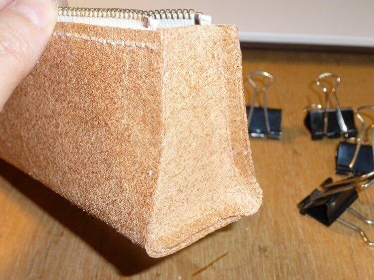 レザークラフト、ペンケースの作り方(縫製)