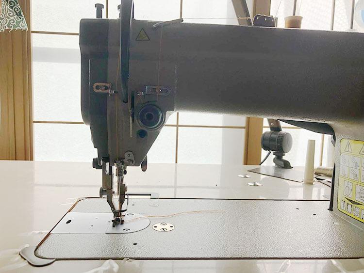 レザークラフト、革縫製の得意な平ミシン