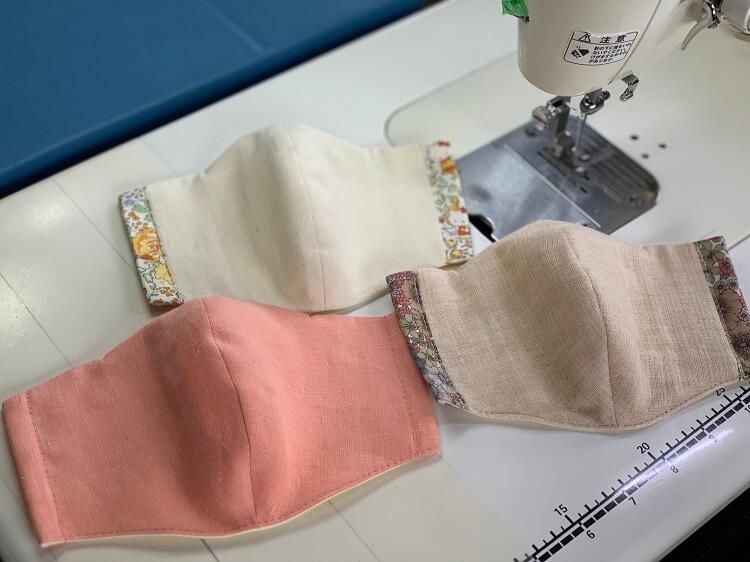 立体マスクの作り方(無料型紙付き)