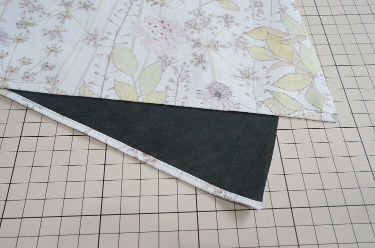 日傘の作り方(裾の処理)